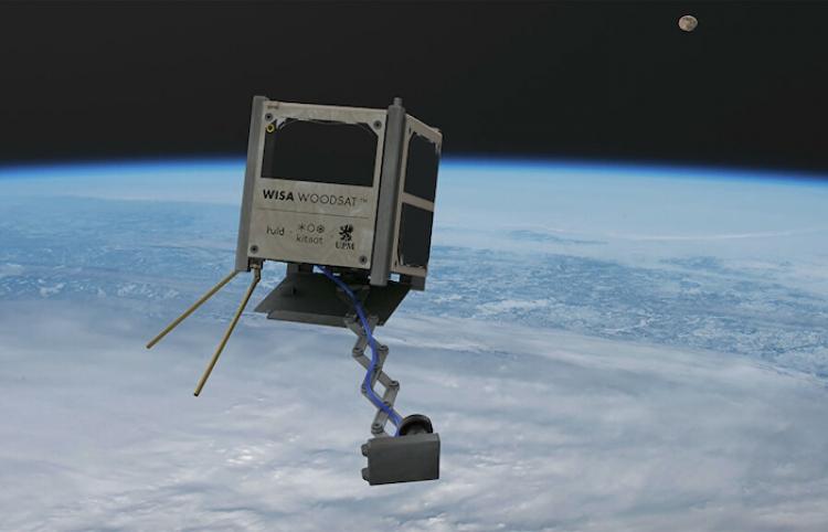 Finlandia prepara el lanzamiento del primer satélite de madera del mundo
