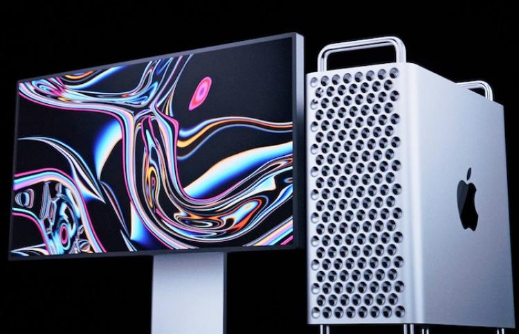 Crean una réplica de la nueva Mac Pro de Apple para determinar si en verdad funciona como rallador de queso